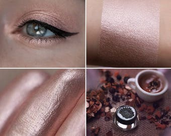 Eyeshadow: Filled with Tranquility - Druidess. Soft rose gold eyeshadow by SIGIL inspired.