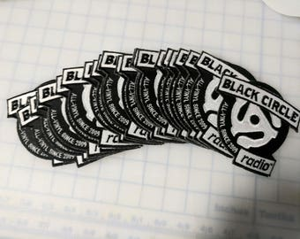 """100 Custom Embroidered multi color patches.  Up to 4""""."""