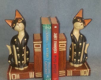 Bookends - Cat Bookends - Cat Theme