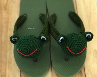 Chic Crochet Flip Flop Sandals - My Leonard SALE