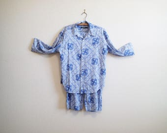 Ralph Lauren Cornflower Blue Pajamas Large - Lightweight w/ drawstring waist