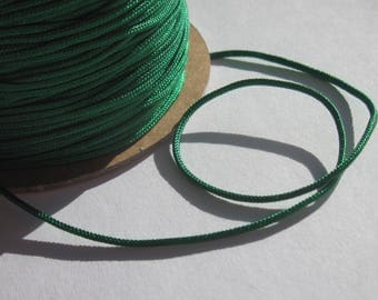 1 m of thread for jewelry, cotton and polyester 1 mm thick approximately (53)