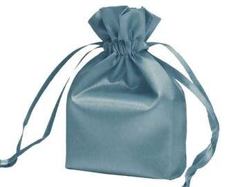 Large Periwinkle Satin Gift Bag