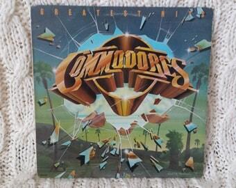 "Commodores - ""Greatest Hits"" vinyl record"