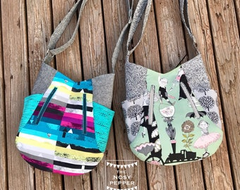 Cross body Bag, hobo bag, shoulder bag, Womens handbag, Ladies Purse, boho bag, everyday bag, handmade purse, shoulder bag, lots of pockets