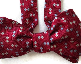 Silk Bow Tie for Men - Confetti -One-of-a-Kind, Self-tie - Free Shipping