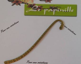 Bookmark bronze for your creations