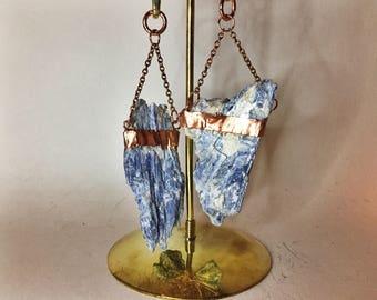 Kyanite/ Copper/ Ear Weights/Ear Hangers