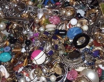 14 pounds of craft jewelry
