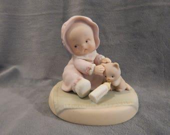 "Vintage Enesco  Memories of Yesterday Figurine ""Bless' em''"