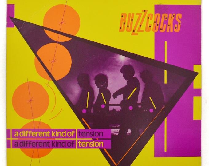Vintage 80s Buzzcocks A Different Kind of Tension Canada New Wave Punk Rock Album Record Vinyl LP