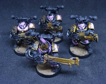 Emperor's Children. Slannesh Chaos Space Marines for Warhammer 40,000. Hand Painted Miniature from Games Workshop