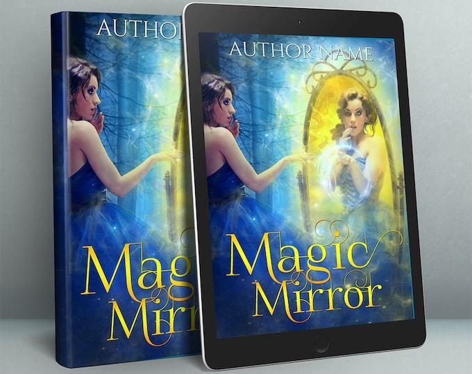 premade fantasy fairytale woman cover design