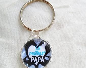 The best dad keychain