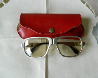 True Vintage Zeiss Umbramatic Sunglasses With Marwitz Frames Made In Germany. 60's.