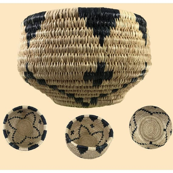 Native American Basket Weaving Kits : Traditional coiled basket weaving kit makes one in