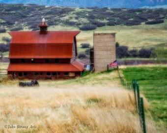 American Barn, Fine Art Photography, Fine Art, Fine Art Print
