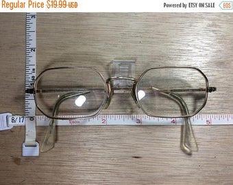 10% OFF 3 day sale Vintage Gold Filled Eyeglasses Santa Style Used