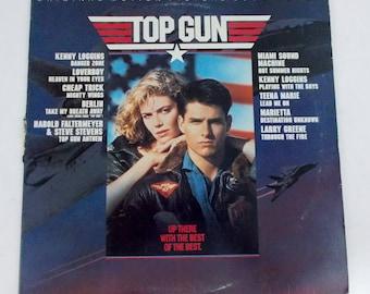Top Gun Original Motion Picture Soundtrack Vinyl LP Record SC 40323