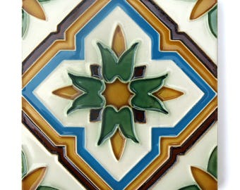 Portuguese Floral Patern Tiles