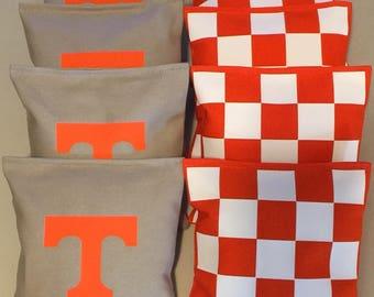 Tennessee cornhole bags