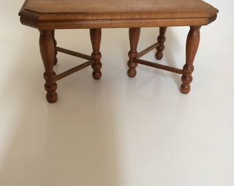 Shackman Dolls House Vintage Wooden Dining Table