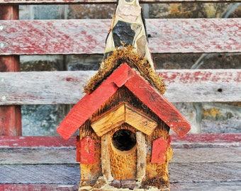 Handmade Steeple Birdhouse