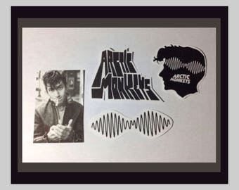 Arctic Monkeys Stickers - Set of 4