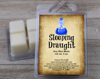 Sleeping Draught Scented Soy Wax Fragrance Tarts