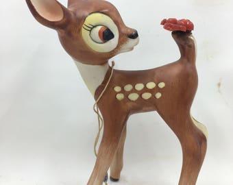 Walt Disney Bambi Ceramic Figurine