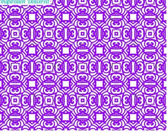 Silk Screen Stencil Arabesque Tribal silkscreen overall design