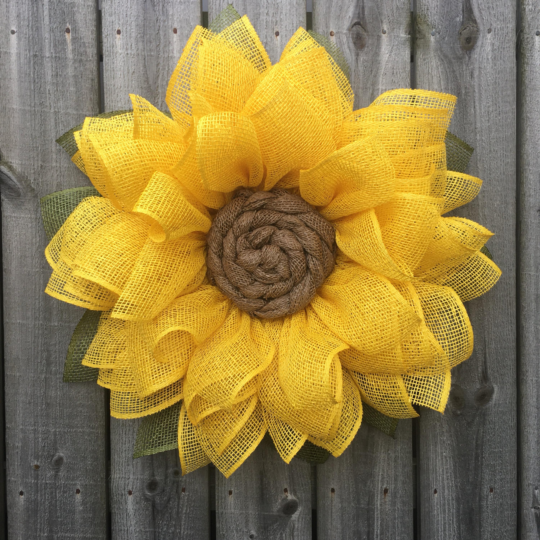 Crochet sunflower 43