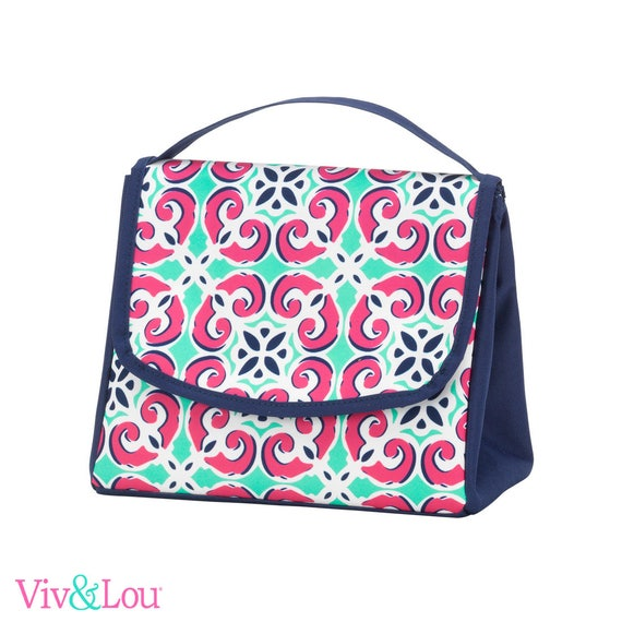 Mia tile lunch box girls lunch bag monogrammed lunch bag personalized lunch bag kids lunch box back to school personalized lunch
