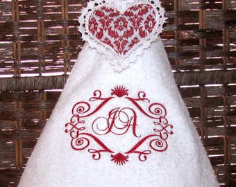 Custom embroidery towel