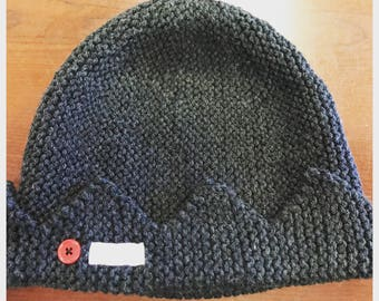 Jughead Hat, Riverdale Hat, Whoopee Cap, Hand-Knitted, Made to Order
