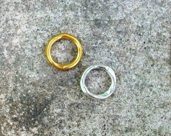 Handmade Ring Connector, Connector, Ring