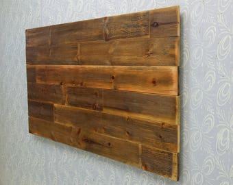 wood headboard reclaimed wood twin headboard queen. Black Bedroom Furniture Sets. Home Design Ideas