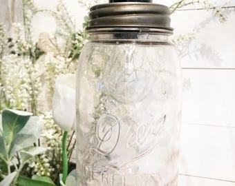 Vintage Ball Jar Light