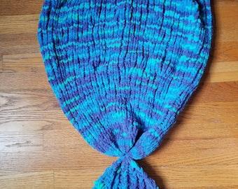 Ocean Mermaid Tail Blanket