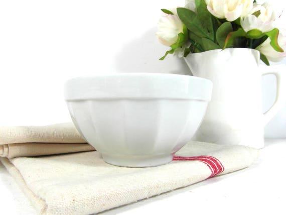Like this item?  sc 1 st  Etsy & White cafe au lait bowl Italian latte bowl French breakfast