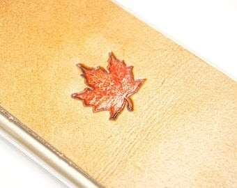 Leather Galaxy S8 Plus Case | Maple Leaf