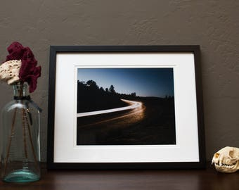 8x10 Photographic Zoom Zoom Print, framed and matted