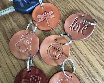 Leather Key chain/fob
