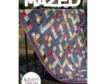 Mazed Quilt Pattern by Kristy Daum