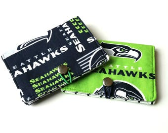 Seattle Seahawks inspired Passport Cover