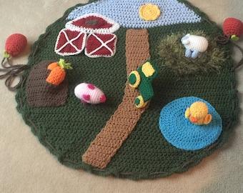 Baby's Farm Play Mat