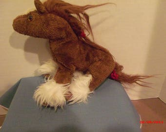 Horse-Vintage Horse Stuffed