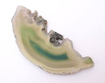 85x33mm natural stone agate slice