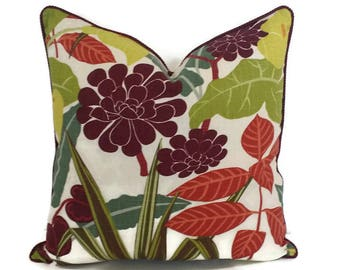 Robert Allen Rowlily in the color Jungle Pillow Cover