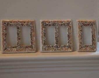 Barbara -  R3...mosaic switch plate.